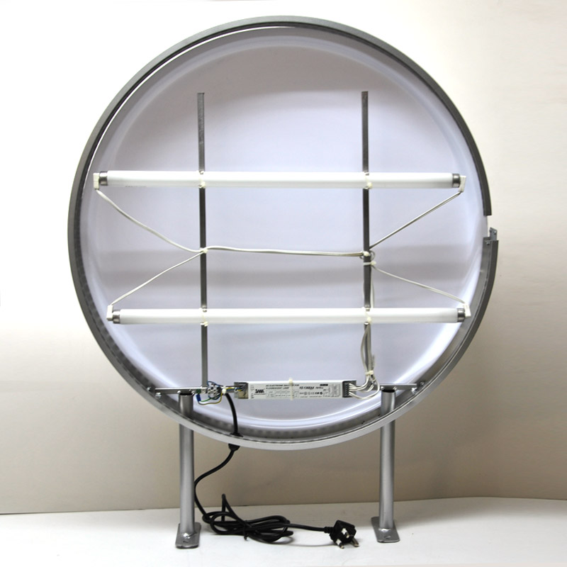 70cm Round Projecting Light Box Tube