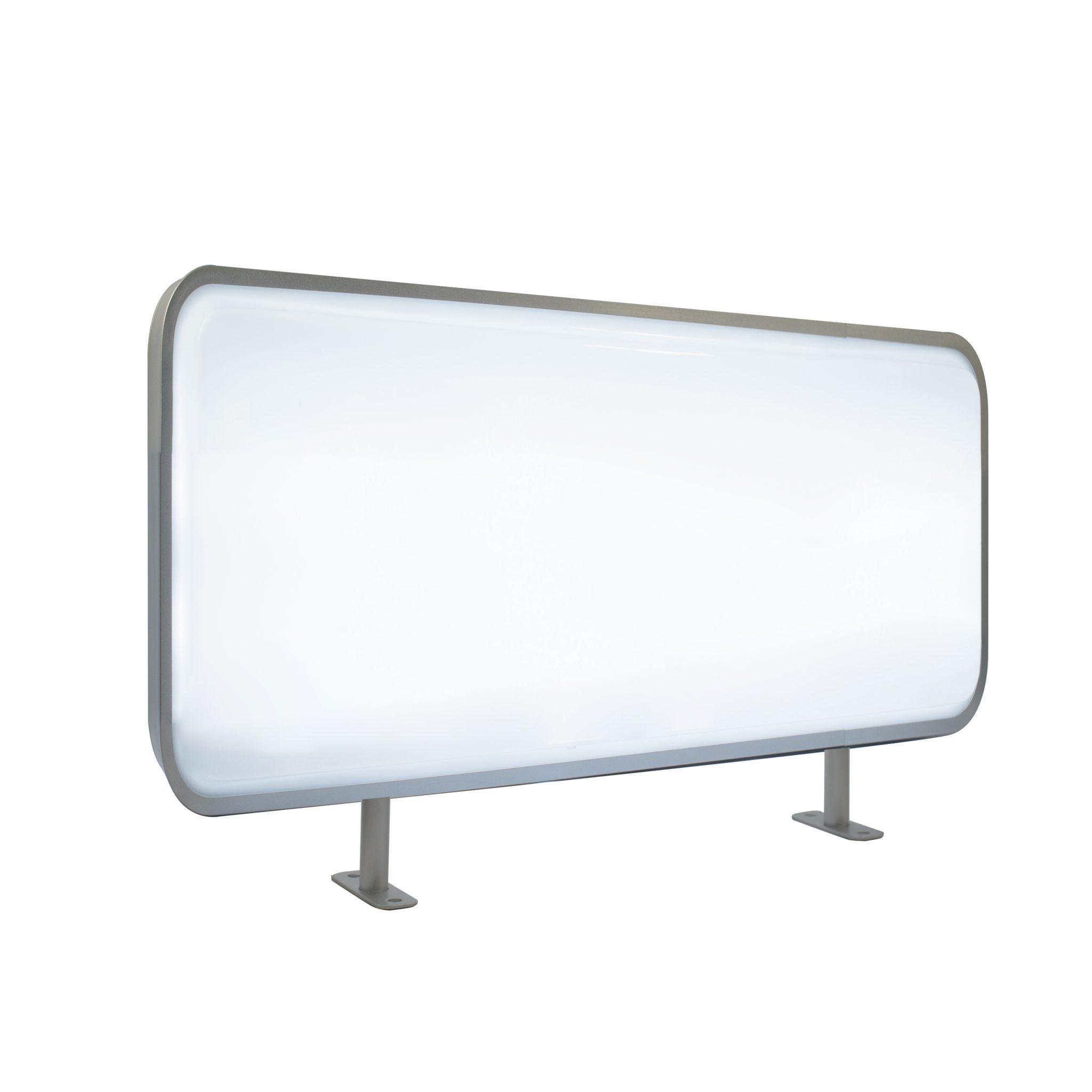 45x100cm Rectangular Vertical Projecting Light Box Led